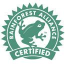 Certifications Rainforest Alliance Certified