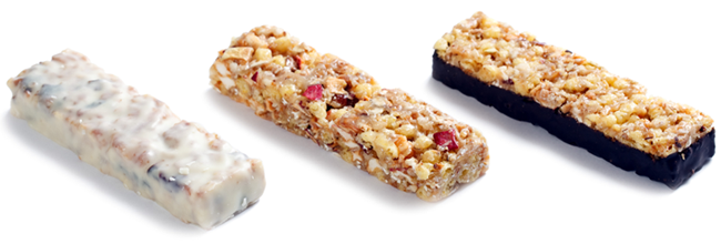 Organic Coatings Protein Bars