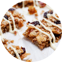 Specialty Coatings Granola Bars